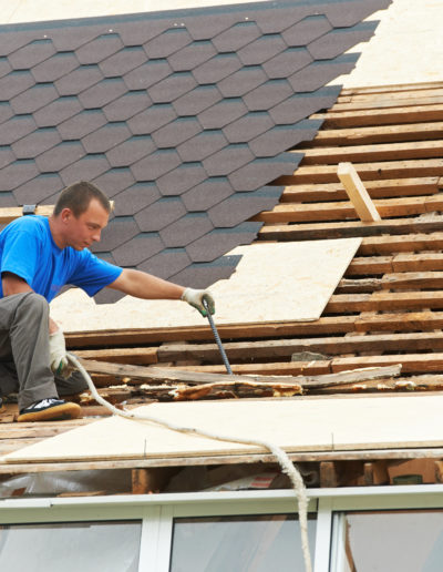Re Roofing a Roof